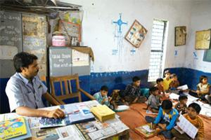 Not enough teachers to educate India