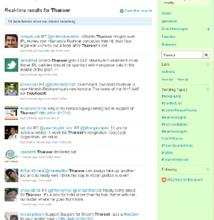 A cross section of tweets about Tharoor