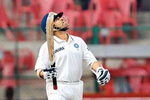 Powerhouse: Tendulkar's skills and form have not been affected by the ravages of time. PTI