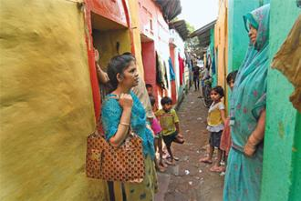 All ears: Parveen's (left) training has taught her to watch out for signs of psychological distress. Indranil Bhoumik/Mint