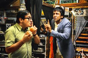 Comic encounters: Vinay Pathak (left) and Kay Kay Menon are worth a watch in Bheja Fry 2.