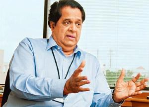 Guiding hand: Kamath says strategy decisions have already been taken and only course correction is required. pHOTO BY Aniruddha Chowdhury/Mint.