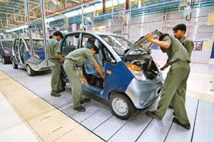 tata\u0026 8217;s nano to have world\u0026 8217;s smallest diesel engineadding value a file photo of workers working on the tata nano assembly line in