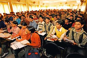 Changing track: The government's effort to cut students' dependence on coaching centres to crack entrance exams has also fuelled the trend. Mint