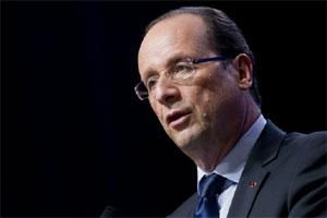 French President Francois Hollande. Photo: Bloomberg