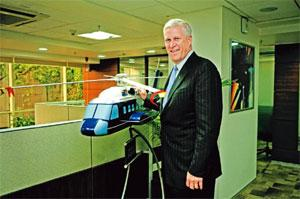 Identifying opportunities: Chenevert says there is a big market for helicopters in India. Photo: Pradeep Gaur/Mint