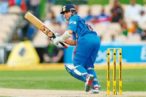 Sachin's solo: Nothing else matters. Photo: Morne de Klerk/Getty Images