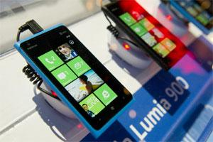 A file photo of Nokia Lumia smartphone.