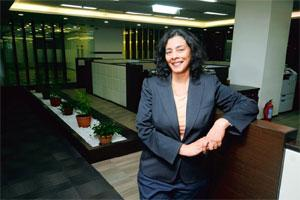 Focus area: Jayanthi says the firm's strengths are in consulting and so it's able to combine the benefits of consulting and technology services. Photo: Abhijit Bhatlekar/Mint.