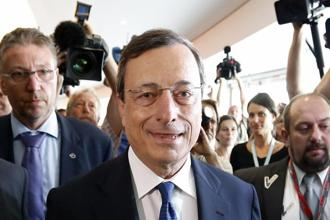 ECB president Mario Draghi. Some analysts do expect the central bank to cut the benchmark interest rate to 0.5% on Thursday, from its already record low level of 0.75%. Photo: Francois Lenoir/Reuters