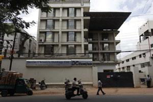 Deccan Chronicle office in Hyderabad. Photo by Kumar/ Mint