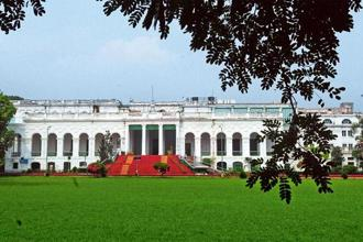 The National Library began in 1836. Photo: Indranil Bhoumik/Mint