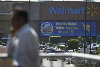 A file photo of a Wal-Mart store in Mexico City. Photo: Reuters