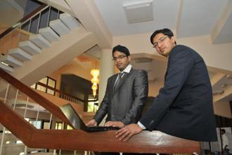 BuyHatke.com co-founders Rohit Shah, left, and Gaurav Dahake. The website is planning to feature products from brick and mortar stores as well to reduce its reliance on partner-portals. Photo: Sharp Image