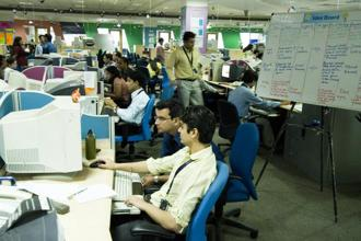 According to statistics compiled by Nasscom, 34% of all venture capital-funded technology start-ups in 2011 were in the online services space and only 3% in the conventional IT services domain. Photo: Mint