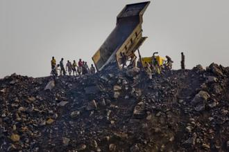 Power stocks fell between 2% and 5%, and Coal India lost about 0.6% in value. Photo: Getty Images