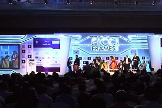 The Ficci Frames event started in Mumbai on Tuesday.