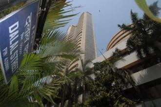A file photo of the BSE building. The benchmark index posted its biggest daily fall since 28 February on Tuesday. Photo: Hemant Mishra/Mint
