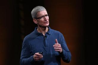 Apple CEO Tim Cook. Cook's apology, unusual though not as rare as during his predecessor Steve Jobs' tenure, highlights the importance of the Chinese market for Apple. Photo: AFP
