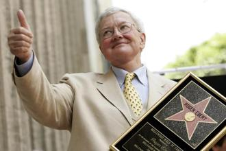 In 2005, Roger Ebert became the first film critic to be honoured with a star on the Hollywood Walk of Fame. Photo: Mario Anzuoni/Reuters