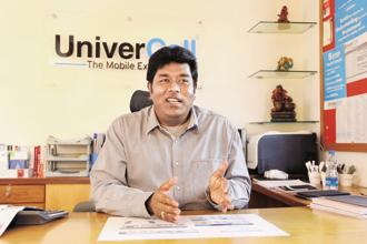 UniverCell MD D. Sathish Babu. Photo: SaiSen/Mint