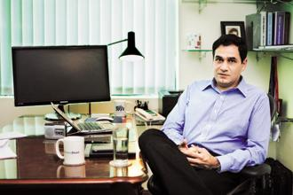Reverse Logistics founder Hitendra Chaturvedi. Photo: Pradeep Gaur/Mint
