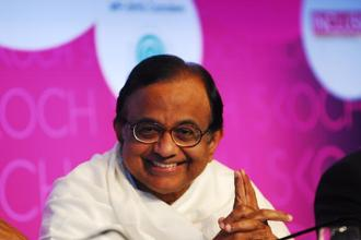 Pitching for more reforms, Chidambaram said India's two main political parties—the Congress and the BJP—should forge a consensus for pushing through reforms, including higher FDI in insurance, passage of the land acquisition Bill and GST. Photo: Pradeep Gaur/Mint