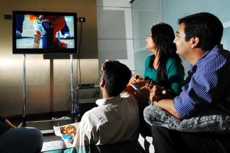 India's estimated Rs13,000 crore television broadcasting industry has been in negotiations with the advertising agencies for about a month over switching billing methods. Photo: Priyanka Parashar/ Mint