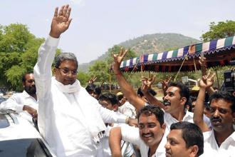 A file photo of Siddaramaiah. Photo: AP