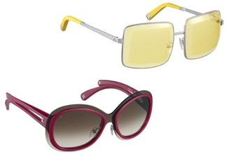 12c7395a1324 Women s geometric shaped sunglasses from Louis Vuitton s Spring Summer 2013  collection