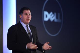 A file photo of Dell CEO Michael Dell. Photo: Bloomberg