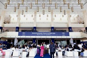 The WEF meeting this past June in Myanmar's capital Nay Pyi Taw may have been prophetic about its concern over what some in media described as 'greedy land grabbing and displacement, especially in ethnic areas with tentative and fragile peace processes'. Photo: ©/2013 World Economic Forum