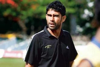 Mumbai Football Club's coach Khalid Jamil. Photo: Sattish Bate/Hindustan Times