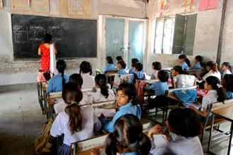 The socio-economic background of the child has a substantial impact on learning, aside from schooling. Photo: Mint
