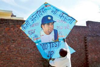 As has been proved over a priceless 24-year career, what cricket can sell, Sachin Tendulkar can sell better. Prabhjot Gill/AP