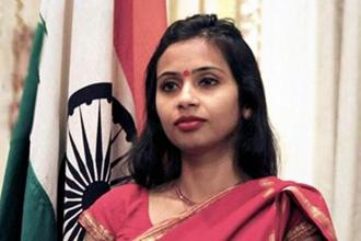 A 1999-batch IFS officer, Devyani Khobragade, India's deputy consul general in New York, was arrested on charges of making false declarations in a visa application for her maid Sangeeta Richard. Photo: PTI