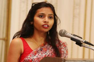 Devyani Khobragade was arrested on charges of making false declarations in a visa application for her maid Sangeeta Richard. Photo: Reuters