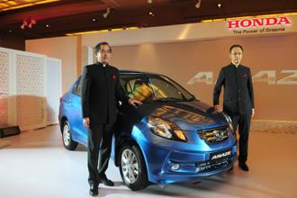 The unexpected demand led to waiting periods of up to four months for delivery of the Amaze, which Honda eventually brought down to 15-90 days by adding another shift at its Noida plant. Photo: Ramesh Pathania/Mint