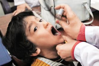 India's dramatic turnout in polio eradication, though, has seen a consistent sidelining of the increasing incidence of non-polio acute flaccid paralysis (NPAFP) cases. In the last 13 months, India has reported at least 53,000 cases of NPAFP. Photo: AFP