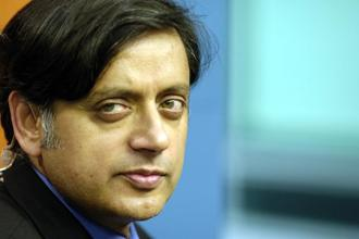 Doctors said Shashi Tharoor was brought to the hospital with a 'cardiac condition; but he is stable now. Photo: Bloomberg