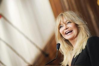 "The ""mindfulness"" panel with Goldie Hawn is among 25 sessions at the 2014 WEF discussing potentially pernicious effects of technology on the brain. Photo: Bloomberg"