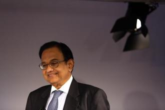 Inflation targeting is only one among the objectives, P. Chidambaram said in an interview on Thursday in Davos, where he is attending the World Economic Forum meetings, adding that another objective of RBI must be to support growth. Photo: Bloomberg