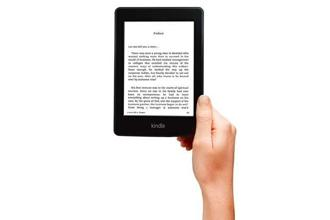 The Kindle Paperwhite tablet