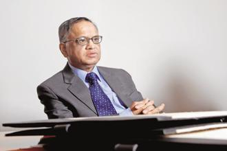 Infosys chairman N.R. Narayana Murthy. Photo: Hemant Mishra/Mint
