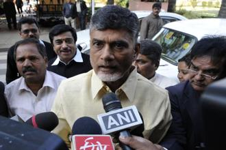 Congress leaders are defecting to Chandrababu Naidu's TDP ahead of elections as he is knows to manage electoral politics and different people. Photo: Hindustan Times