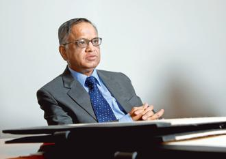 Attrition gathered pace after Infosys brought back from retirement its founder N.R. Narayana Murthy to help revive its fortunes. Photo: Hemant Mishra/Mint