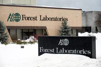 Forest Laboratories said that it agreed to sell Furiex royalties on two products to Royalty Pharma for about $415 million upon completion of the acquisition. Photo: Bloomberg