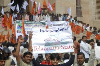 President's rule was imposed in Andhra Pradesh on 1 March after N. Kiran Kumar Reddy resigned as chief minister following bifurcation of the state to create Telangana. Photo: AP