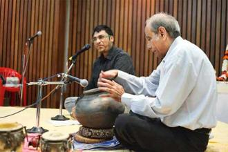 Homi Mullan (right) will showcase musical instruments. Photo: