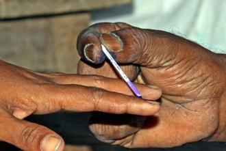 For Wednesday's elections, 3.67 crore voters in Seemandhra were eligible to cast their ballots for 333 candidates, who are in the race for 25 Lok Sabha seats. Photo: PTI